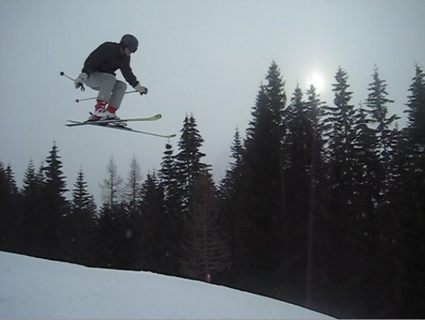 skiing in Austria